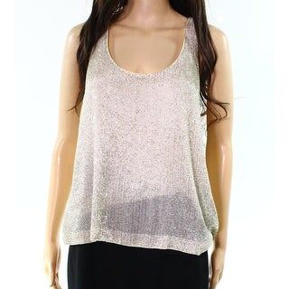 Polo Ralph Lauren NEW Gold Women's Size 10 Embellished Tank Cami Top