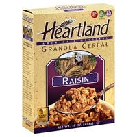 Heartland Granola Cereals - Raisin - Case of 6 - 14 oz.