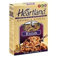 Heartland Granola Cereals - Raisin - Case of 6 - 14 oz.