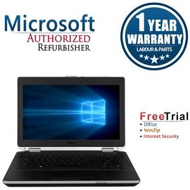 "Refurbished Dell Latitude E6420 14.0"" Laptop Intel Core i5 2520M 2.5G 4G DDR3 500G DVD Win 7 Pro 64 1 Year Warranty"