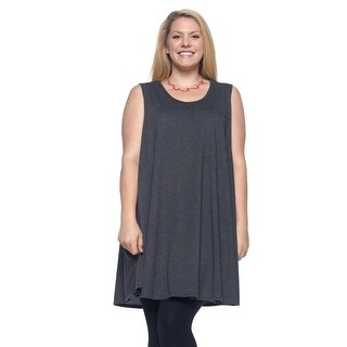 Women's Plus Size Scoop Neck Tank Top 1X-4X (More options available)