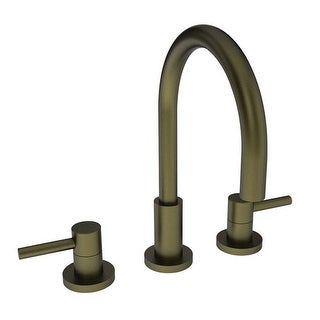 Newport Brass 1500 East Linear Double Handle Widespread Lavatory Faucet with Met