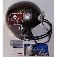 Derrick Brooks Autographed Hand Signed Tampa Bay Buccaneers Throwback Full  Size Helmet PSADNA 7e8d2762a