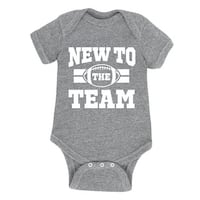 New To The Team - Infant One Piece
