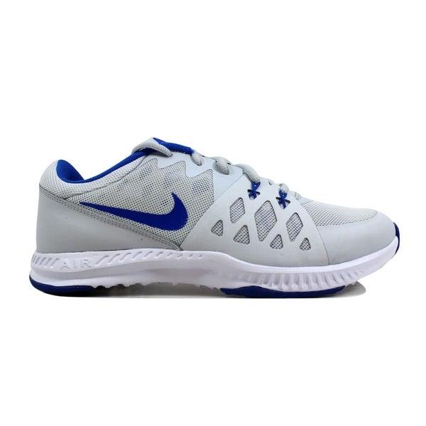 52a9e4d8bed43 Shop Nike Air Epic Speed TR II 2 Pure Platinum/Hyper Cobalt Men's ...