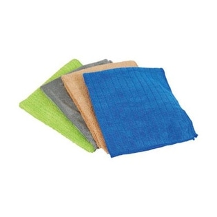 "Quickie 477PDQ Homepro Household Microfiber Cleaning Cloths, 16"" x 14"", 4 Pack"