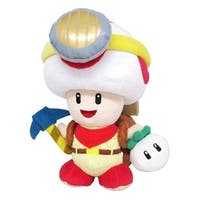 Nintendo 9-inch Super Mario Captain Toad Plush Toy