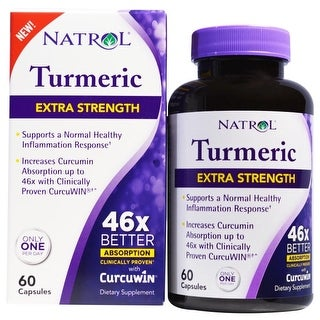 Natrol High Absorption Turmeric 60-count