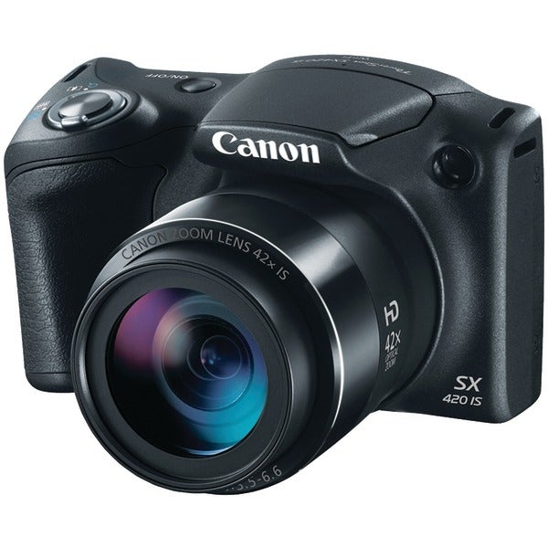 Canon 1068C001 20.0-Megapixel Powershot(R) Sx420 Is Digital Camera (Black)