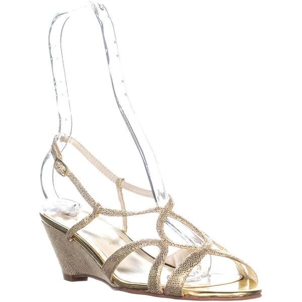 Shop Gold Caparros Lisette Slingback Sandals, Gold Shop Lizard - - 24019076 6748b5