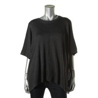 Lilla P Womens Knit Dolman Pullover Sweater - o/s