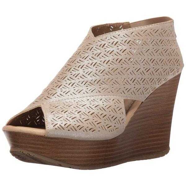 Kenneth Cole Reaction Womens Sole Safe 2 Peep Toe Casual Platform Sandals