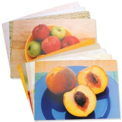 Fruits & Vegetables Poster Set of 14