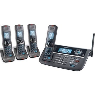 Uniden DECT4086-4 DECT 6.0 2 Line 4 Handset Cordless Expandable Phone New