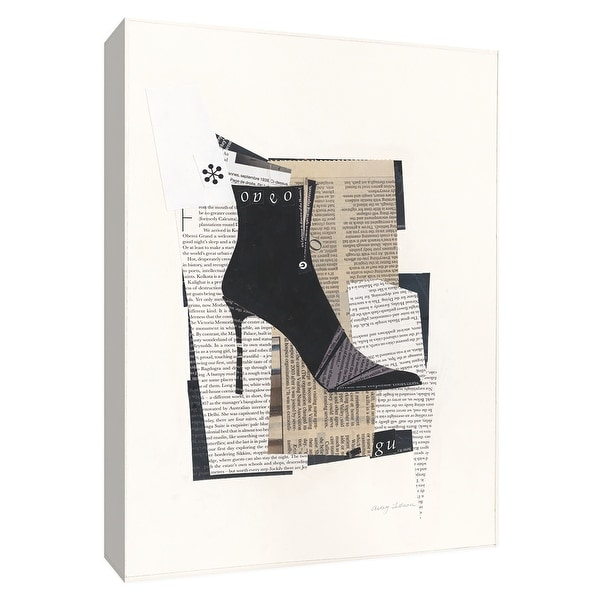 """PTM Images 9-154755 PTM Canvas Collection 10"""" x 8"""" - """"Step It Up I"""" Giclee Shoes Art Print on Canvas"""