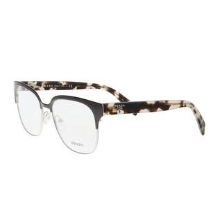 Prada PR 54SV DHO1O1 Brown/Silver Cat Eye Optical Frames - 54-16-140