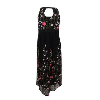 INC International Concepts Women's Plus Open-Back Maxi Dress - Black (2 options available)