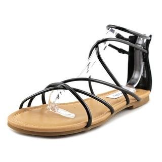 Steve Madden Sapphire   Open Toe Synthetic  Gladiator Sandal