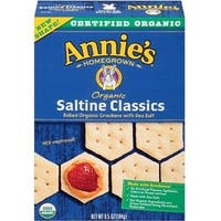 Annie's Homegrown - Classic Saltine Crackers ( 12 - 6.5 OZ)