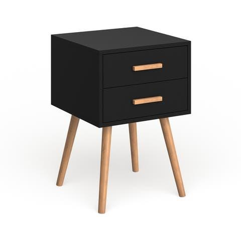Carson Carrington Odda 2-drawer End Table