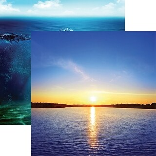 """Lake Life Double-Sided Cardstock 12""""X12""""-Lake Love"""