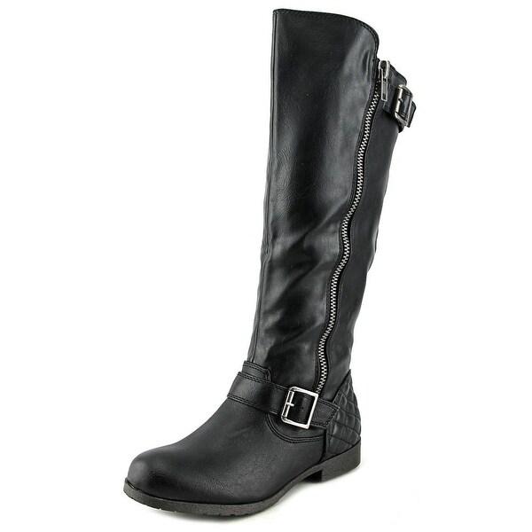 Material Girl Larisa Women Black Boots