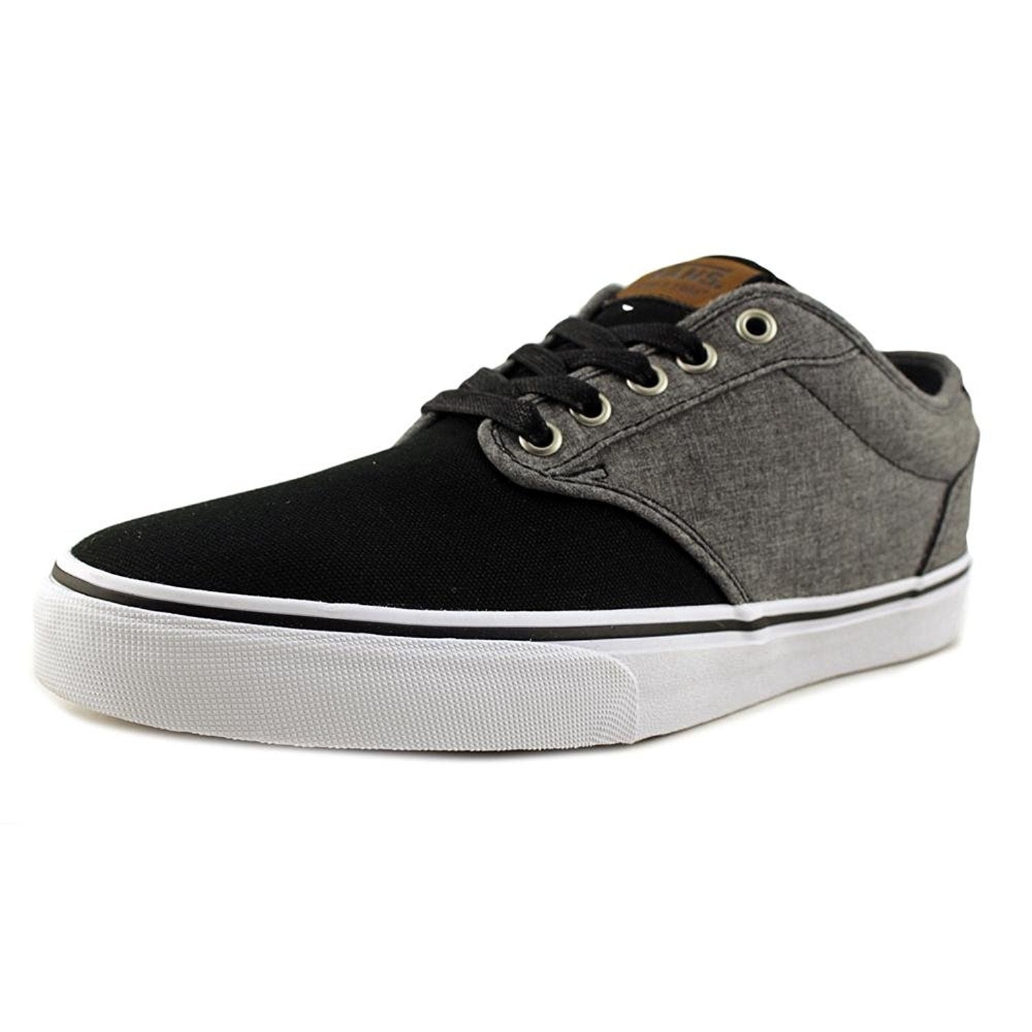 Vans Atwood Deluxe Men US 9 Black Sneakers - (mixed)black/grey
