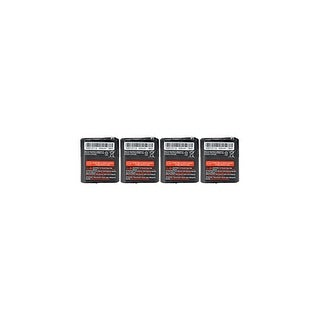 Replacement Battery For Motorola MR355R / MT350R 2-Way Radios - 53615 (650mAh, 3.6V, NiMH) - 4 Pack