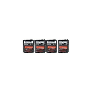 Replacement Battery For Motorola T7100 / T5920 2-Way Radios - 53615 (650mAh, 3.6V, NiMH) - 4 Pack