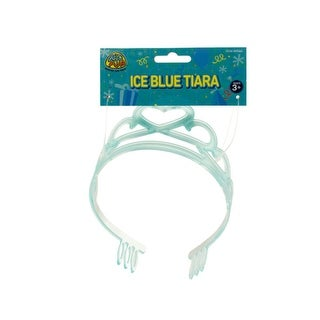 Ice Blue Party Tiara - Pack of 24