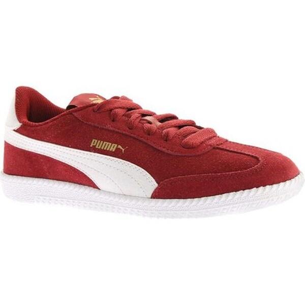 548b349db4a3f0 Shop PUMA Astro Cup Suede Sneaker Red Dahlia PUMA White - Free ...
