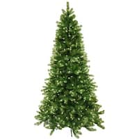 7.5' Pre-Lit Vienna Pine Artificial Christmas Tree - Clear Lights - Green