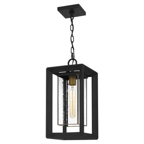 Infinger Outdoor Hanging Lantern - Earth Black