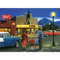 """A Night At The Movies - Paint By Number Kit 15.375""""X11.25"""""""