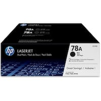 HP 78A 2-pack Black Contract LaserJet Toner Cartridge (Single Pack) HP 78A (CE278D) 2-pack Black Ori