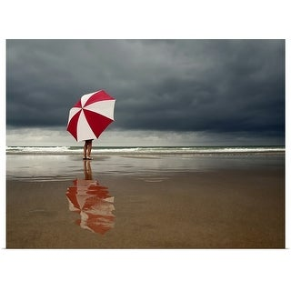 """""""Stormy weather"""" Poster Print"""