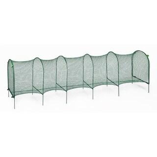 "Kittywalk Lawn Version Outdoor Cat Enclosure Green 120"" x 18"" x 24"""
