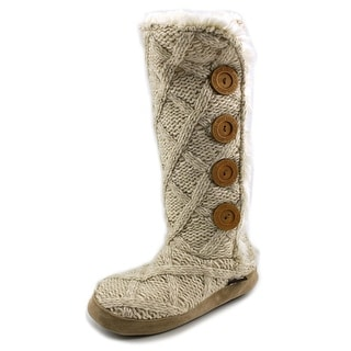 Muk Luks Malena   Round Toe Synthetic  Winter Boot