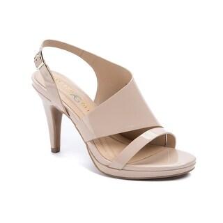 Andrew Geller Theola Women's Heels Natural
