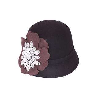 Cloche Cap with Flower Band