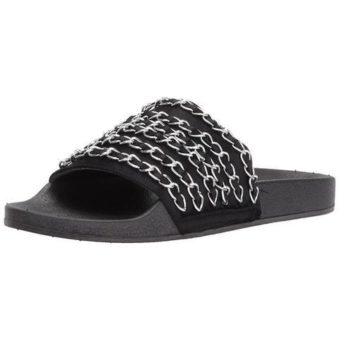 c1a9f78ba Report Womens Greggers Open Toe Casual Slide Sandals