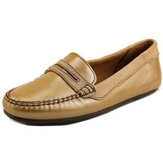 Sebago Lucerne Moc Toe Patent Leather Loafer