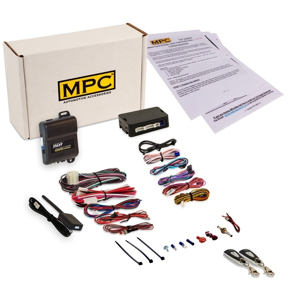 Complete 1-Button Remote Start Kit For 2007-2014 GMC Acadia - Includes  Bypass - Firmware Preloaded