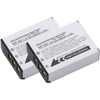New Replacement Battery For FUJI Finepix SL1000 Camera Model Lithium Ion 1700mAh 3.7V ( 2 Pack )