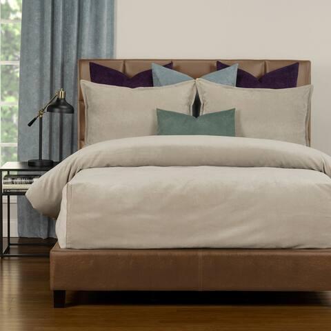 Mixology Padma Velvet 7 Piece Bedcap Comforter Set