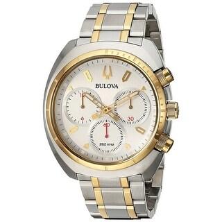 Bulova Men's Curv 98A157 Silver Dial Watch