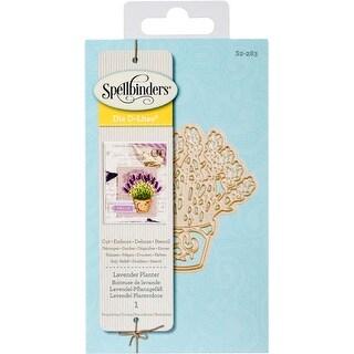 Lavender Planter - Spellbinders Shapeabilities Die D-Lites