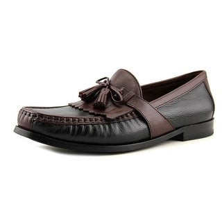 Johnston & Murphy Aragon II Men  Moc Toe Leather Brown Loafer