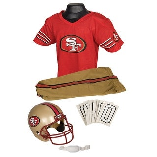 NFL 49ers Uniform Costume