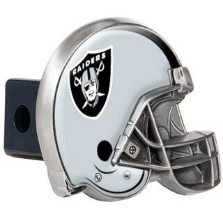 Great American Products Oakland Raiders Helmet Trailer Hitch Cover Helmet Trailer Hitch Cover